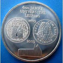 Alemanha-moeda Prata-10 Euros-2009-comemo.600 Anos-universid
