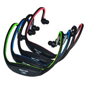 Mp3 Vincha Sport Micro Sd Expansible 8gb Radio Fm Inear Usb