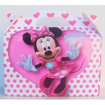 Bolsita Valijita Minnie Souvenir Infantiles Pack X50