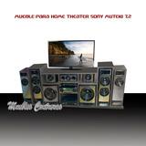 Mueble Rack Para Sony Muteki 7.2 + Led - Lcd - Tv