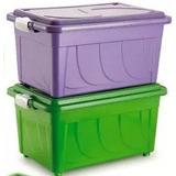 Caixa Plastica Organizadora 60 Litros Cod. 642 Kit 03 Caixas