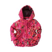 Jaqueta Marisol Baby Rosa Com Estampa De Flores