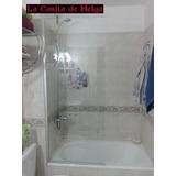 Mampara De Baño Fija Cristal Templado 70x140 Cm