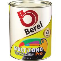 Berel Multitono Pro Pintura Vinilica 4lt