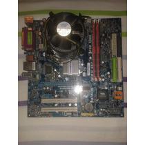 Tarjeta Madre 775 Con Procesador Core2duo Memoria Ram 512 Mb