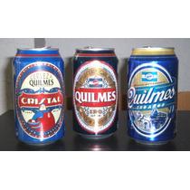 Latas Cerveza Quilmes 120 Años X 3