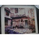 Quadro Moldura Imagem Figura Antiga Cidade Fotografia