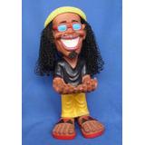 Boneco Bob Regueiro Rastafari Em Resina