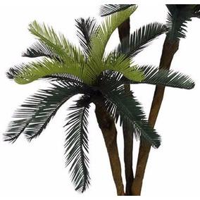 Planta Artificial Decoração Palmeira Cycas Frete Grátis