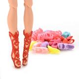 Sapatinhos Barbie Kit 12 Pares Não Repetem Frete Grátis Bras
