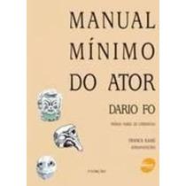 Livro Manual Mínimo Do Ator Franca Rame
