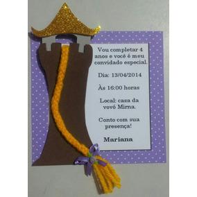 Convite Festa Rapunzel