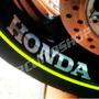 Friso + Adesivo Refletivo Roda Moto Honda Hornet Cb Gsx All