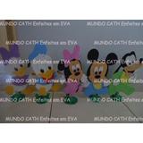 Centro Mesa Enfeites Baby Disney Mickey Minnie 5unidades