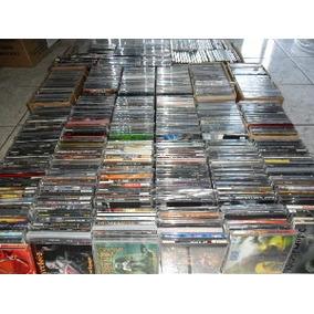 Lote Com 100 Cds Originais Frete Grátis Rock Pop Mpb Axé Etc