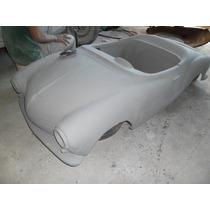 Mini Karmann Ghia - Carroceria Em Fibra Nova - Rarissima