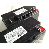 2 Baterias Seladas Csp Power 12v 18ah Vrla Para Nobreak Sms