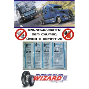 Balanceamento Dinâmico Pneu Caminhão Ônibus 275/80 Aro 24.5