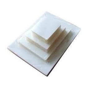 100 Laminas De Plastificar Tamaño Carnet 175 Micrones 70x100