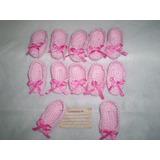 Lembrancinha De Maternidade, Nascimento Bebê Crochê