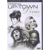 Dvd Original Up-town Divas Tina Dionne Chaka Dusty R$ 15,00