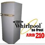 Heladera Whirlpool C/freezer M350t Arb210 Usada Funciona Ok