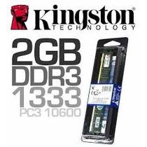 Memoria Ram Ddr3 1333mhz 2gb Pc Blister Original