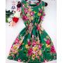 Vestido Feminino Chiffon Boêmio Vários Modelos Cod 018