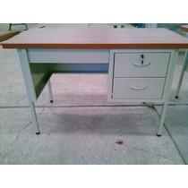 Escritorio Metálico 1.20x60 Muebles De Oficina, Fabricantes!