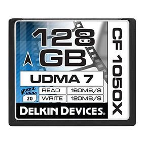 Compact Flash Delkin 128 Gb Cf 1050x Udma 7 Cinema Memory