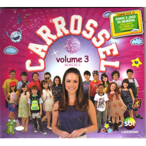Cd Carrossel Volume 3 Remixes Sbt Original Lacrado