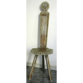 Cadeira Antiguidade - Madeira Trabalhada