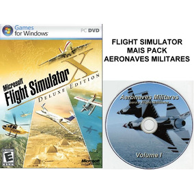 Flight Simulator X Deluxe + Pack Aeronaves Militares