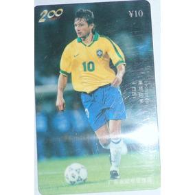 Cartão Telefônico Jogador Leonardo Ano 98