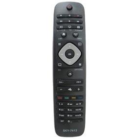 Controle Remoto Tv Led Philips Led Sky7413 Sky-7413