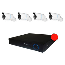 Kit Cctv Ip Plc Hd 1080p Sin Cables Video Por Red Electrica