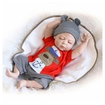 Bebe Reborn 57 Cm Todo Silicon Envio Gratis