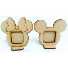 Portaretrato Mickey Y Minie, Centro De Mesa 20cm Pack 10u