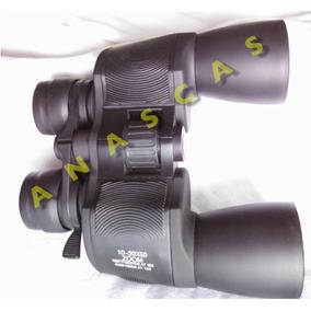 Multi Poderes 10-30x50 Binoculares Zoom 60x Microscopio Led