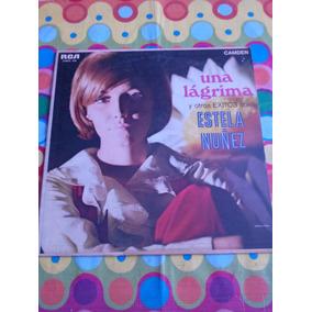 Estela Nuñez Lp Una Lagrima 1969