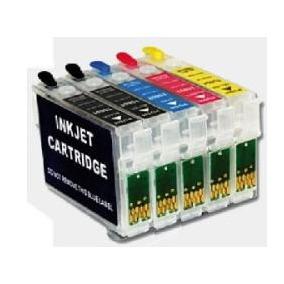 Cartuchos Recarregaveis T1110 + Chip Full + 250ml De Tintas