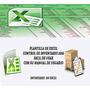 Plantilla Hoja Excel Control De Inventario Entradas Salidas