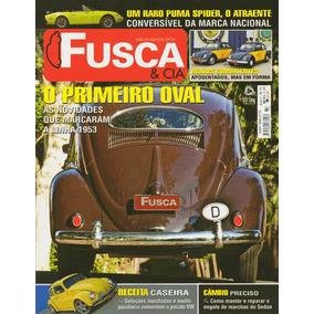 Fusca & Cia Nº73 Vw Sedan Oval 1953 Puma Spider Conversível