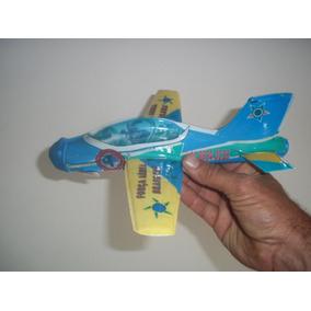 Avião Aeromodelo A Elástico Tucano Brinde Lembrança