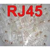 Conector Rj-45 Cat 5e Pacote 500 Peças!!!