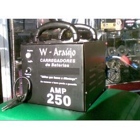 Fonte Automotiva 250a E Carregador De Bateria, Chupa Cabra