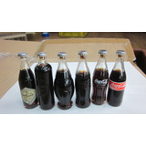 Coca Cola Mini Set De 6 Botellas Edicion 80