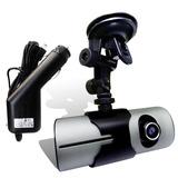 Camara Auto Vehicular Dvr Doble Lente Gps Vision Nocturna
