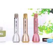 Karaoke Portatil Microfono Con Bocina Bluetooth Powerbank