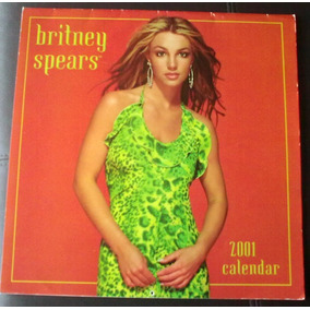 Britney Spears Calendario 2001